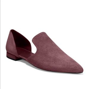 Vince Dk Bordeaux Damris D'orsay Loafer Sandals